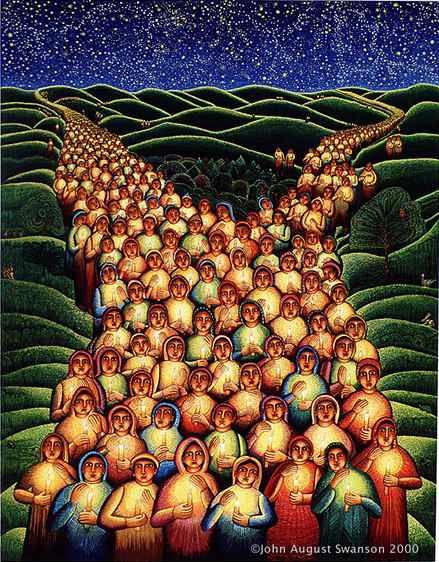 John August Swanson: Festival of Lights for All Saints