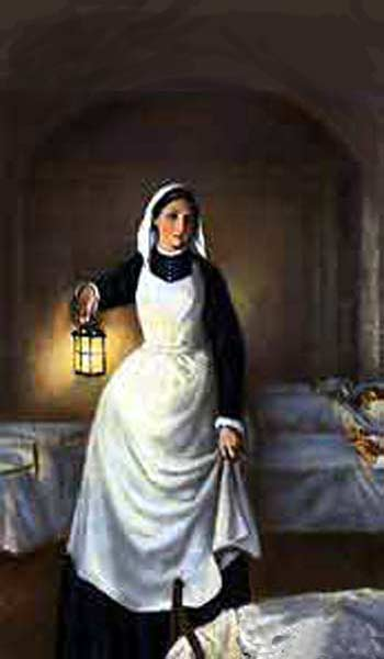"They called Florence Nightingale ""the lady with the lamp"" for her heroic service among soldiers in the Crimean War; she looked at filthy sick wards full of the injured and dying, and promptly ordered they be cleaned up at once. More Tommys were dying of infectious disease and poor sanitation than from war wounds, and she proved it. (Source unknown)"