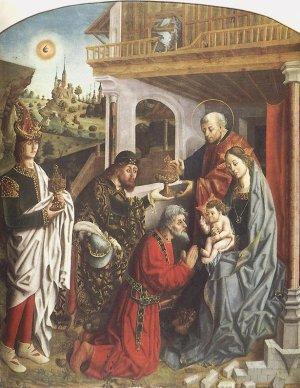 Fernando Gallego, c. 1480: Epiphany