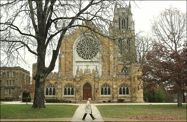 Bishop Quintard is probably best remembered today for rebuilding Sewanee, the University of the South, which is owned by 28 Southern dioceses, including Tennessee, after the Civil War.