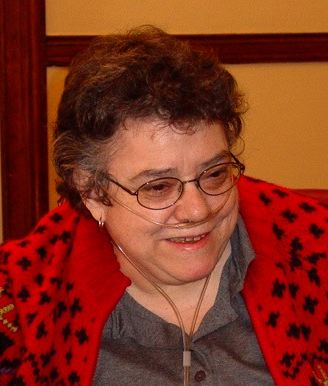 The Rev. Sr. Brooke Bushong, late Deacon and Evangelist in the Diocese of New York; colleague of Br. Ervin's and another of my five great mentors in lay ministry, to whom our sites are dedicated. (courtesy of friends and family)