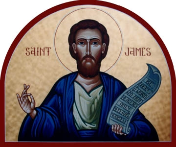 "St. James's most direct contribution to the development of the Christian faith was helping to settle the circumcision controversy that threatened to split the early Church into Jewish and Greek factions. As Bishop of Jerusalem he said, ""My judgment is that we should impose no irksome restrictions on those Gentiles who are turning to God."" (Acts 15:19)"