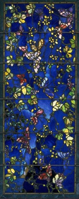 John La Farge, 1889: Butterflies and Foliage (Boston Museum of Fine Arts)