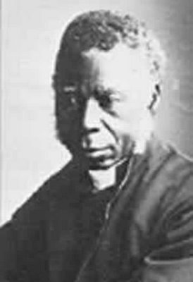 As a child Samuel Crowther was sold to Portugese slave-traders, but a British patrol ship intercepted them and took him to Freetown, Sierra Leone, where he was educated at church schools and became a teacher. He was ordained in 1843 and moved on to the Yoruba territory of Nigeria, where he translated the Bible and Prayer Book. He became Africa's first Black bishop in 1864 and was the best-known African Christian of the century.