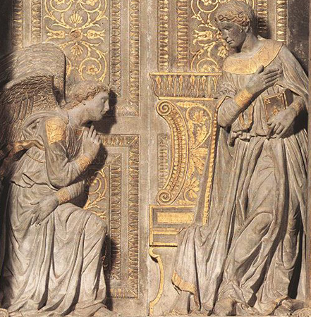 Donatello: Annunciation