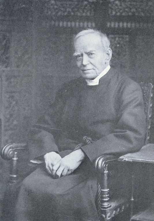 Today's saints helped revive monasticism in the Anglican Communion. Fr. Benson, above, was a disciple of Edward Bouverie Pusey and founded the Society of St. John the Evangelist, the first stable community for men since the Reformation. They've ministered in India, South Africa, England and the USA.