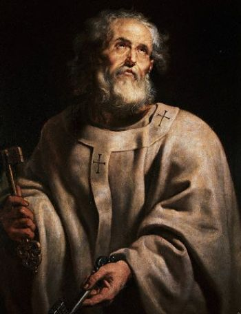 Peter Paul Rubens, c. 1618: St. Peter