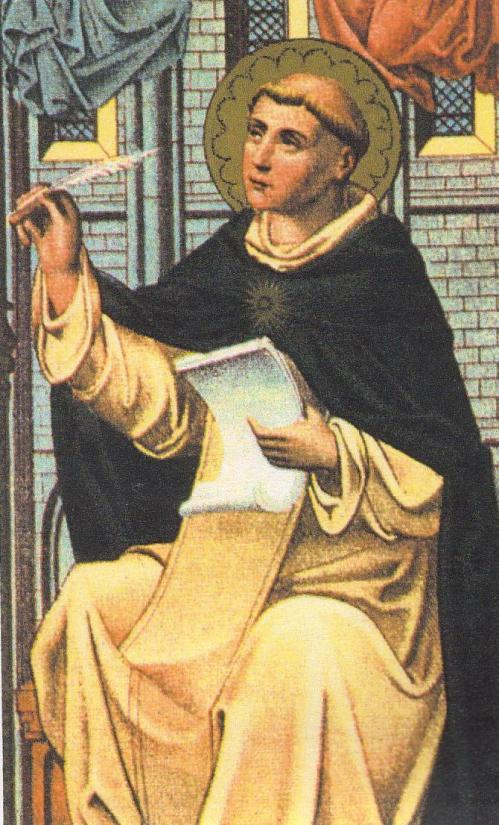 "Besides his masterwork, Summa Theologica, Aquinas also wrote the Eucharistic hymn ""Now my tongue the mystery telling."""