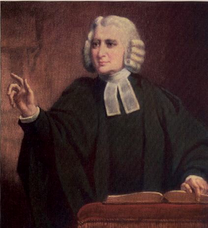 Charles Wesley, John's younger brother, was one of the great hymn-writers of all time, with 6000 expressions of profound and personal faith in Jesus Christ. Their father Samuel Wesley the Elder was also a priest and poet, and Charles was the father of Church composers Samuel the Younger and Samuel Sebastian Wesley. That's a lot of talent in one family - and a lot of faith. (artist unknown)