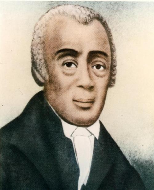 Richard Allen and Absalom Jones worked together to found the Free African Society in Philadelphia in 1787, out of which grew two congregations, St. Thomas's African Episcopal and Bethel African Methodist. By 1794 Allen united with several other Black Methodist churches in the Mid-Atlantic states to start the African Methodist Episcopal Church. (Urban Archives)