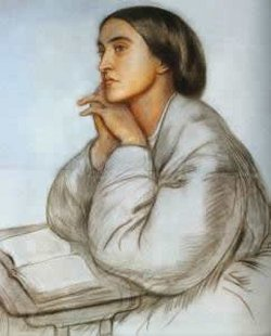 "Christina Rossetti, by her brother Dante. Holy Women, Holy Men offers a concise yet sweeping overview of her life and times: 19th century Britain, a period of rapid industrialization, the creation of a new middle class, the abandonment of the countryside, the squalor of urban slums – and cultural, religious and artistic reactions, including nostalgia for the way things were. Dante Rossetti started a Pre-Raphaelite Brotherhood; Christina wrote 500 devotional poems on the sacramental things of the earth: bread, oil, water, wine. Two of her poems have been set to music as Christmas carols: ""In the Bleak Midwinter"" and ""Love Came Down at Christmas."""