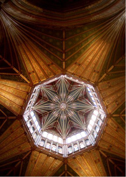 Ceiling octagon, Ely Cathedral