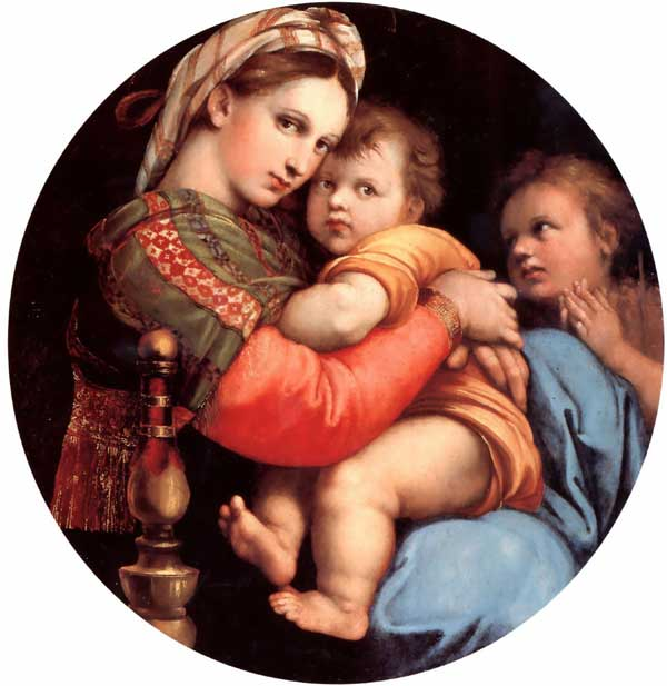 Raphael: Madonna of the Chair
