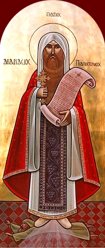 "Athanasius was the greatest defender of Christ as both Son and Equal of God the Father. He wrote, ""The Savior of us all, the Word of God, in his great love took to himself a body and moved as Man among men, meeting their senses, so to speak, halfway. He became himself an object for the senses, so that those who were seeking God in sensible things might apprehend the Father through the works which he, the Word of God, did in the body."""