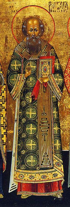 Gregory was a bishop's son, and though he was a committed Christian, he did not want to become a priest, much less a bishop. But he was so effective at fighting the Arian heresy and upholding the divinity of Christ that his friend St. Basil ordained him anyway; Gregory was furious and wouldn't speak to him for years.