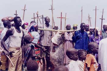 The Christian bishops, chiefs, commanders, clergy and people of Sudan declared, on May 16, 1983, that they would not abandon God under threat of Shariah Law imposed by the fundamentalist Islamic government in Khartoum. The result: 22 years of civil war. (Episcopal News Service)