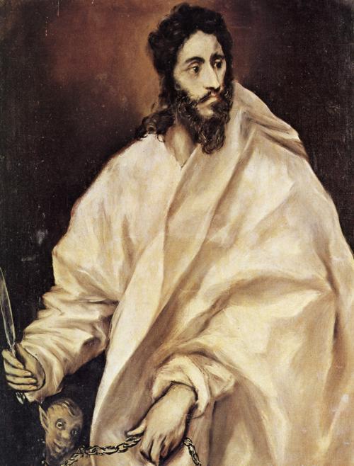 El Greco, c. 1610-14: St. Bartholomew