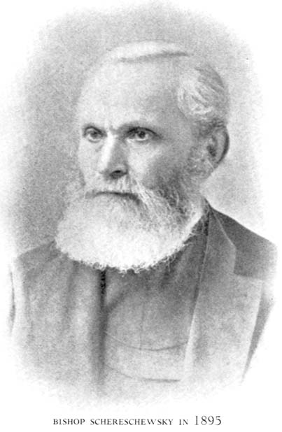 Schereschewsky is known to us for his heroic work in translating the Bible and parts of the Prayer Book into Mandarin. Then he started translating into another dialect, got stricken with paralysis, was forced to resign his see, and sat in a chair for 20 years, typing 2000 pages with his one good finger, until he finally finished translation of his grand opus in Wenli, the classical writing style of China.
