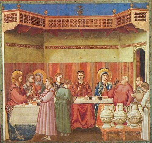 Giotto di Bondone: Marriage at Cana