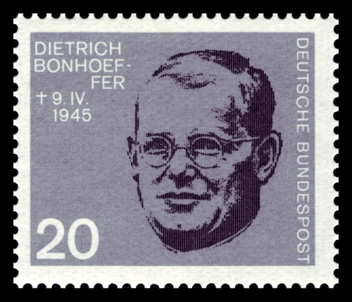 Bonhoeffer taught briefly in the United States and had several chances to escape Nazi Germany entirely, but his faith and sense of responsibility drew him into the Resistance. He was hanged a few months before Germany lost the war and Hitler killed himself. West Germany issued this stamp in 1964.