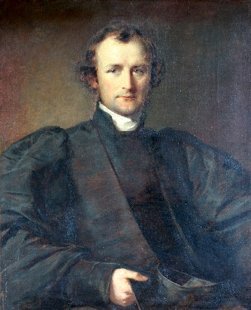 In 1867 Selwyn, the first Bishop of New Zealand and beloved missionary among the Maoris, represented his new church at the first Lambeth Conference, which recognized Anglicanism had grown to be an international communion and not just a British export. While there he was reluctantly persuaded to accept the See of Lichfield. (George Richmond)
