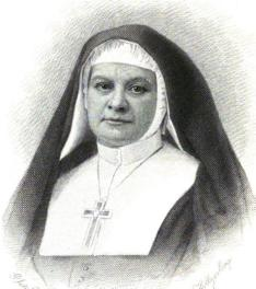 Mother Harriet, orphaned early by a yellow fever epidemic, founded the Community of St. Mary in New York, the first homegrown religious order in the Episcopal Church; they later served heroically in another yellow fever outbreak and were numbered among the Martyrs of Memphis (Sept. 9).