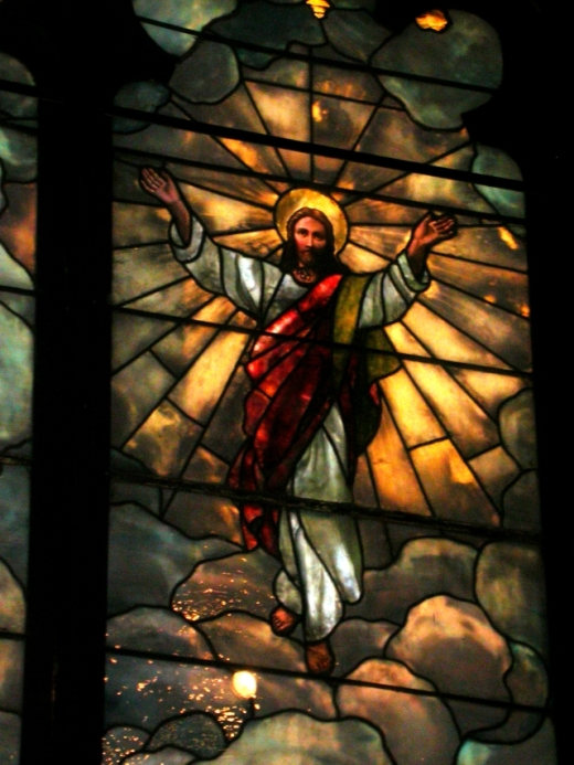 The bodily taking up of Jesus to heaven is not just an article of faith, spoken every day in the Creed, it forms a kind of climax to the Resurrection. Then on Pentecost, God's Act III began with the sending of the Holy Spirit. (University of Scranton)