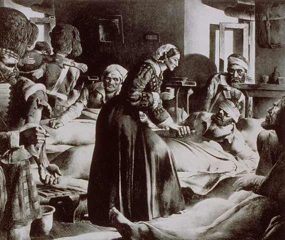 """There are not many saints about whom we can say, """"She touched my life directly by her work and ministry,"""" but we can say that of Florence Nightingale. Her chief works were these: Cutting the British death toll in the Crimean War by using science to prove a link between sanitation and mortality; organizing a professional nursing school in London, which turned nursing from a suspicious pursuit into a profession; and authoring a classic textbook used for decades. Her influence was worldwide, from India to Europe and the Americas; her faith was unwavering. God bless nurses! (source unknown)"""