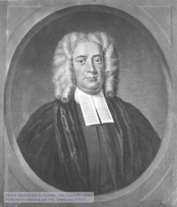 Timothy Cutler was rector of Yale College when he defected from Congregationalism to the Anglicans. He felt that apostolic succession conveyed more authority and more resembled the Early Church. He served as rector of Christ Church, Boston, where he advocated tirelessly for a bishop for the American colonies. The Church of England wouldn't appoint a bishop for any British territory until after the American Revolution, a policy that almost destroyed Anglicanism in the new United States. (Yale University)