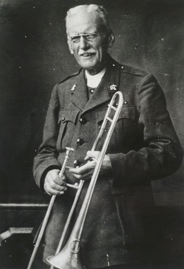 The Rev. Wilson Carlile, founder of the Church Army, an English evangelical ministry that spread to North America, Scandinavia, Africa, Australia and New Zealand – and unofficially brings you this website; our Lay Vicar was commissioned an Evangelist in 1977, a year before the American Church Army was killed off in a fundamentalist coup, which hindsight shows was the first act of a decades-long homophobic schism that really got going after the election of Gene Robinson as Bishop of New Hampshire. (source unknown)