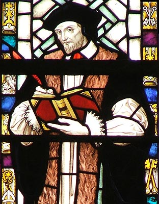 (In honor of Translators' Day, we'll be reading their psalms and lessons; while the canticles and prayers will be in our usual contemporary style.) Miles Coverdale's translation of the Psalms was adopted by Thomas Cranmer for use in the first Book of Common Prayer (1549), so you've probably read this man's work and recited it many times, as it's still the official psalter of the Church of England. Coverdale began his ecclesiastical journey as an Augustinian friar, and finished his translation while still a monk; in time he was ordained, became Bishop of Exeter for two years, was exiled, married, and restored; by the end of his life he was a Calvinist. (source unknown)