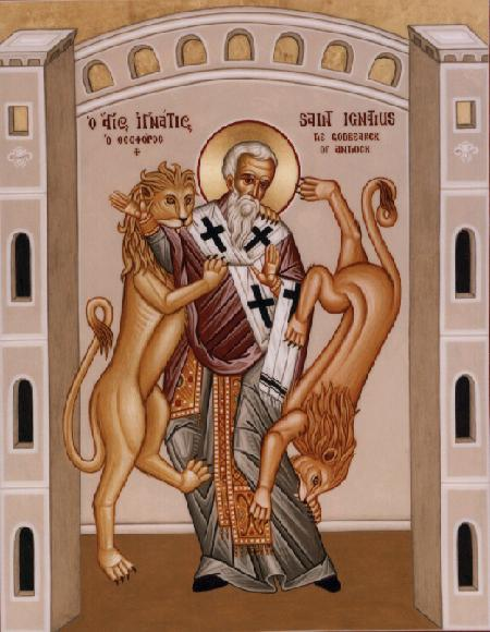 """Ignatius of Antioch counseled against schism, telling people to follow their bishop as Jesus followed the Father. This works as long as bishops know what they're doing; but of course they're human. The Early Church was magnificently served by leaders like Ignatius, who wrote, """"Where the bishop is present, there let the congregation gather, just as where Jesus Christ is, there is the Catholic Church."""""""