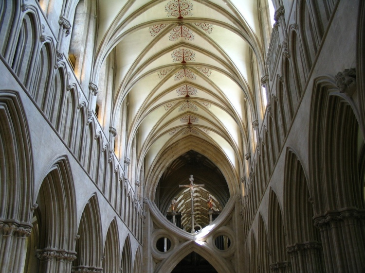 Wells Cathedral (Wikipedia)