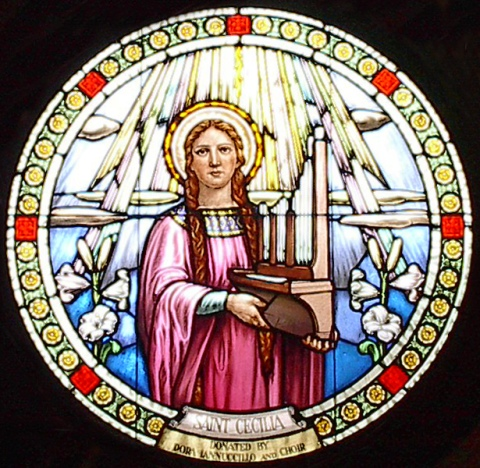 Cecilia is the patron saint of singers, organ builders, musicians and poets. She is remembered for the passion with which she sang the praises of God. Her legacy is considered to be the strong belief that good music is essential in worship.