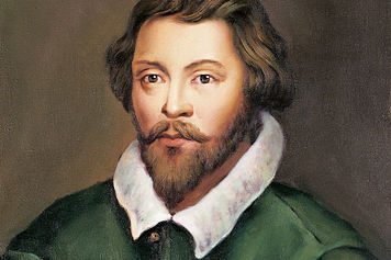 William Byrd, a student of Tallis, was also a Roman Catholic who enjoyed the favor of Elizabeth I. He is renowned for his motets, anthems, psalm settings and masses.