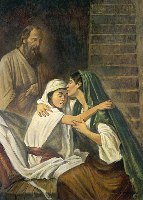 Robert T. Barrett: Elijah Raises the Widow's Son