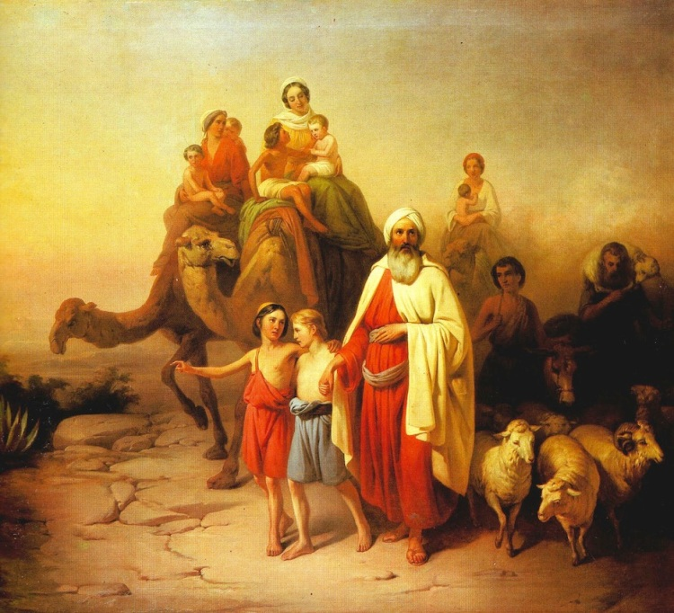 József Molnár, 1850: Abram's Journey from Ur to Canaan