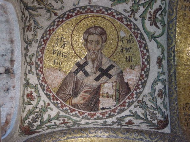 Gregory succeeded in converting King Tiridates of Armenia to the Christian faith, and together they persuaded the people to join them, making Armenia the first Christian nation on earth. (Theotokos Pammakaristos Church, Istanbul)