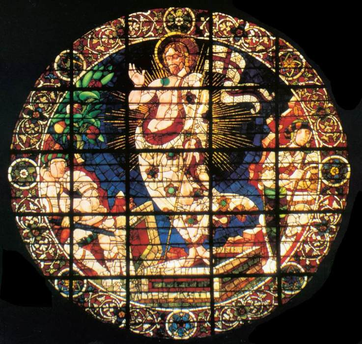 Paolo Uccello: Resurrection window (Duomo, Florence)