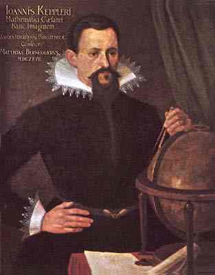 Johannes Kepler, a German seminary professor, mathematician and astronomer. He taught that science can lead us more deeply into an understanding of the workings of the Creator, whose intelligible plan is accessible to human reason.
