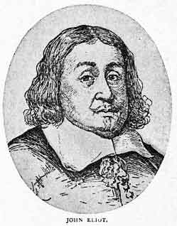 John Eliot was a British Puritan who left for New England in 1631. He became pastor of a church near Boston, came into contact with the aboriginal Algonquins, and spent the rest of his life in ministry with them, writing a monumental Bible translation and a grammar book treasured by linguists and Natives.