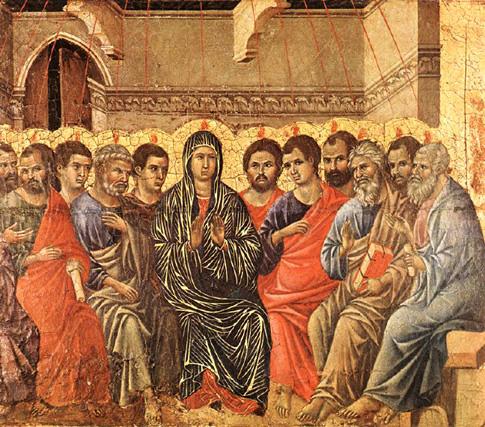 Duiccio di Buoninsegna, 1308: Pentecost