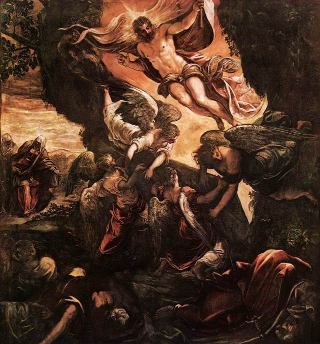 Tintoretto: Resurrection of Christ
