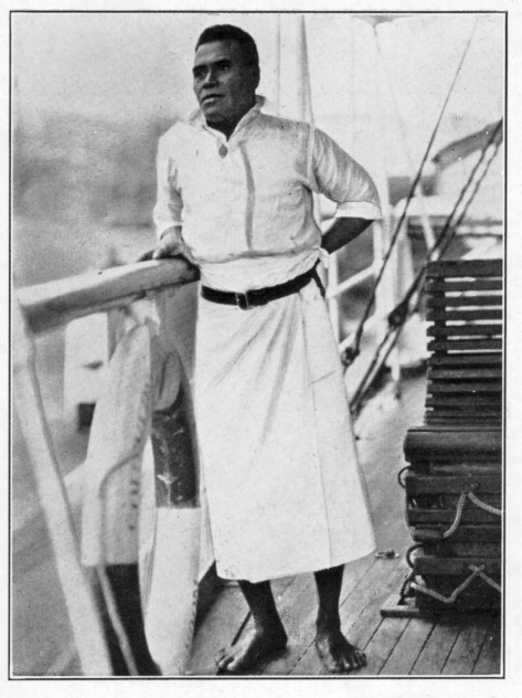 Ini Kopuria, the first Elder Brother of the Melanesian Order, was born on Guadalcanal in the Solomon Islands. He was educated at St. Barnabas School on Norfolk Island and was expected to return home as a teacher, but became a police officer instead. In 1924 he came to realize his vocation as a monastic, and founded the Melanesian Brotherhood, devoted to evangelism and peacemaking. It is a large organization, despite the rigorous demands it makes on its members; it takes three years of training just to become a novice. Most brothers serve for 7-10 years, then return to secular life, obtain employment and get married. Seven Brothers were martyred for trying to make peace during ethnic violence in 2003.