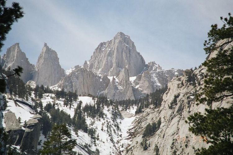Mount Whitney, California: glorify the Lord, O mountains and hills. (Wikipedia)