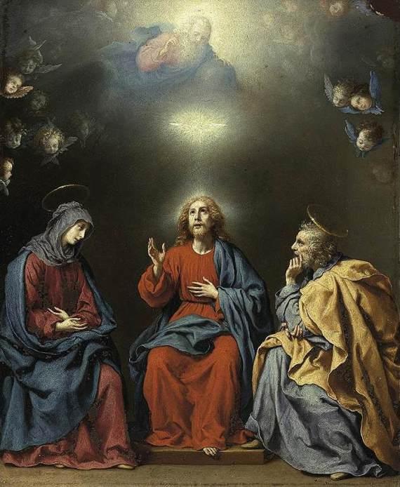 Dolci: Trinity and the Holy Family