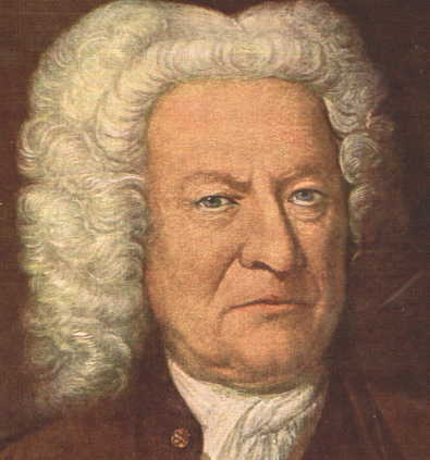 Portrait of J.S. Bach in Old Age, known as the Altersbild. He was a man of deep Lutheran faith whose music expressed his religious convictions.