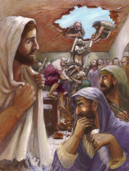 Darlene Slavujac Thau: Jesus Heals a Paralyzed Man
