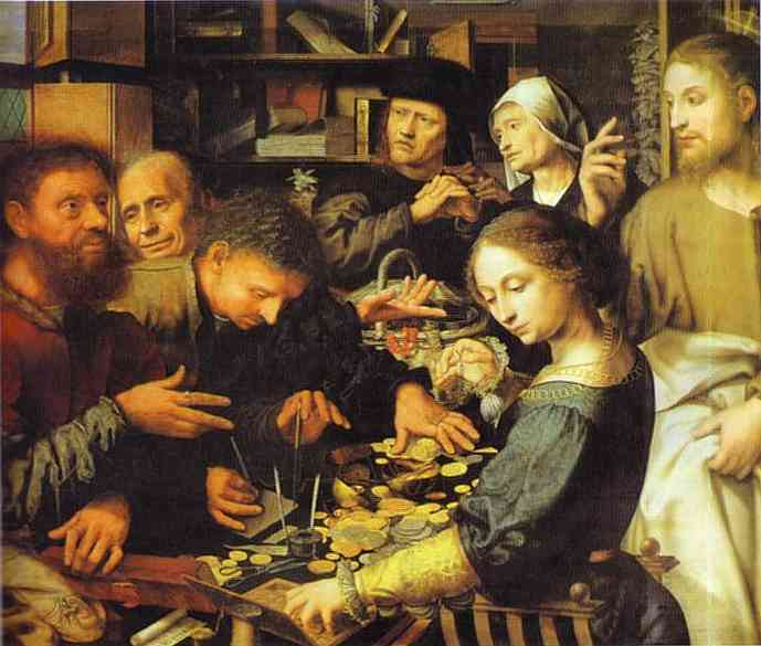 Jan Sanders Hemessen: Jesus Summons Matthew the Tax Collector