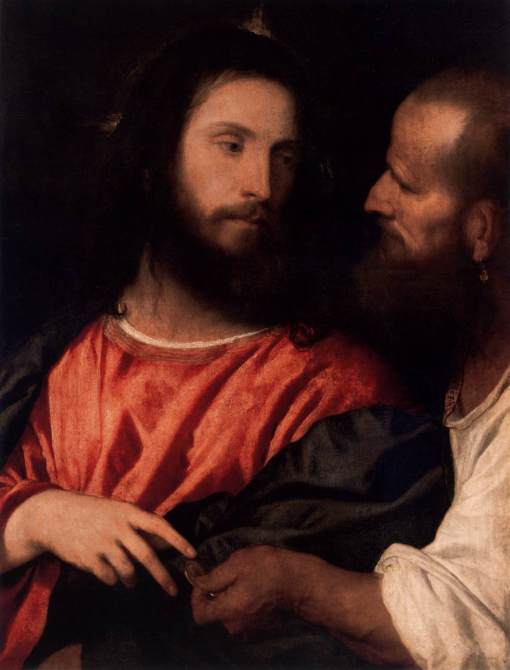 "Titian, 1516: The Tribute Money, or ""Render unto Caesar…"""